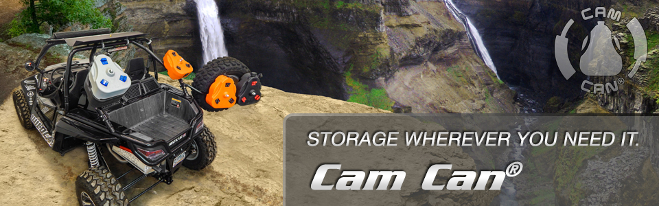 Take more gear with you - Cam Can